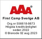 Nordic Camping AAA rating logo